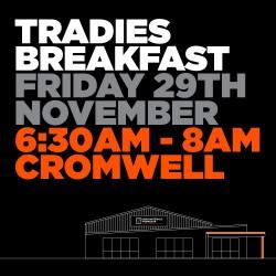Cromwell Tradies Breakfast