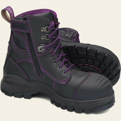 Blundstone 897 Womens Zip Safety Boots