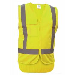 Caution Day/Night Basic Safety Vest
