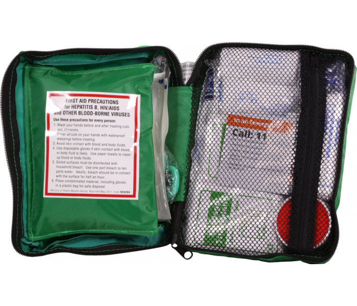 In2Safe 1-5 Person First Aid Kit-Soft Pack