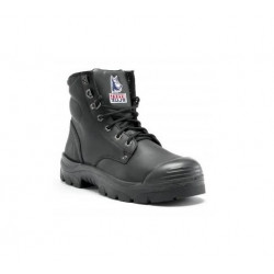 Steel Blue Argyle Zip w/ Bump Cap Safety Boots
