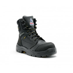 Steel Blue Torquay Zip Safety Boots