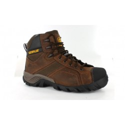 CAT Argon Hi Zip Safety Boots