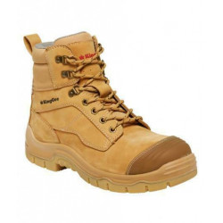 King Gee Phoenix 6Z Zip Safety Boots
