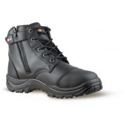 No.8 Hamilton Zip Safety Boots