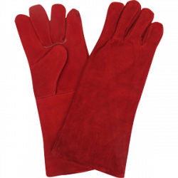 In2Safe Red Weld Glove Pair