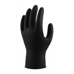 Lynn River Black Grizzly Nitrile Disposable Gloves-50pr Box