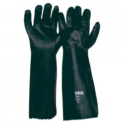Armour PVC Double Dip Gauntlet Gloves 45cm