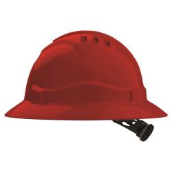 PRO V6 Full Brim Vented Ratchet Hard Hat