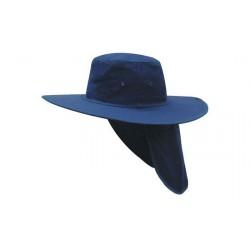 Headwear Slouch Hat w/ Backflap