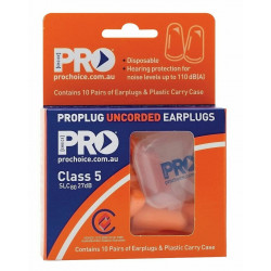 PRO Bullet 10pr Uncorded Earplugs