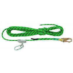 Miller 15m Anchorage Line 12mm Sharp Edge Kernmantle Rope w/ Type 1 Fall Arrestor