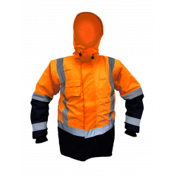 Caution Storm Pro Day/Night Zip Sleeve Jacket