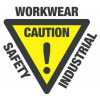Caution Day Only Microfibre Singlet-Fluro Orange/Navy