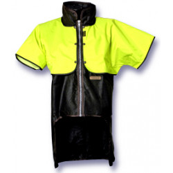 Styx Mill Oilskin Short Sleeve Zip Cape