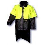 Timberline Oilskin Jacket with Hi-Vis Cape