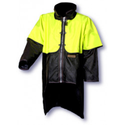 Styx Mill Oilskin Jacket w/ Hi-Vis Cape