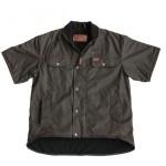 Outback Oilskin Vest : Short Sleeve