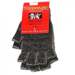 Thermadry Possum/Polyprop Fingerless Glove