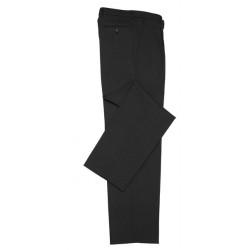 Biz Classic Mens Flat Front Pants