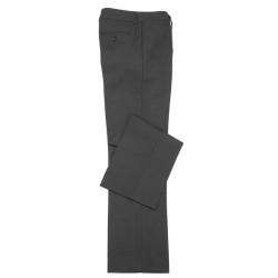 Biz Classic Womens Flat Front Pants