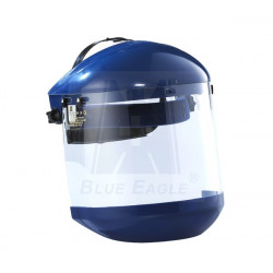 Blue Eagle Face Shield Complete