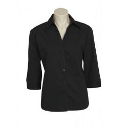Biz Metro Womens 3/4 Sleeve Shirt