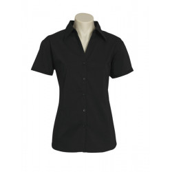 Biz Metro Womens Short Sleeve Shirt