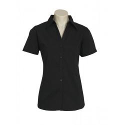 Biz Metro Womens Short Sleeve Shirt