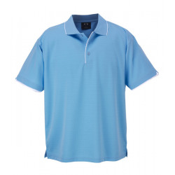 Biz Elite Mens S/S Polo