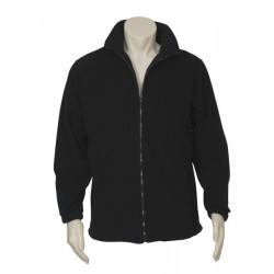 Biz Plain Micro Fleece Mens Jacket