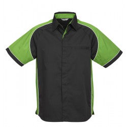 Biz Nitro Mens Short Sleeve Shirt
