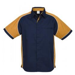 Biz Nitro Mens Short Sleeve Shirt