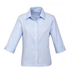 Biz Luxe Womens 3/4 Sleeve Shirt