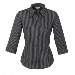 Biz Cuban Womens 3/4 Sleeve Shirt