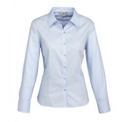 Biz Luxe Ladies Long Sleeve Shirt