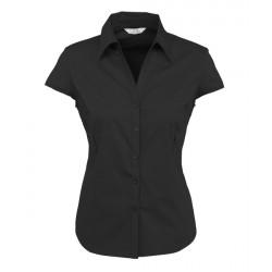 Biz Metro Cap Sleeve Ladies Shirt