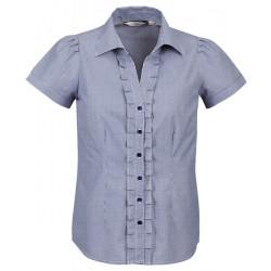Biz Edge Ladies Short Sleeve Shirt