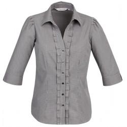 Biz Edge Womens 3/4 Sleeve Shirt