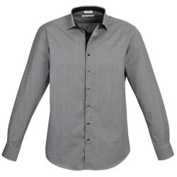 Biz Edge Mens Long Sleeve Shirt