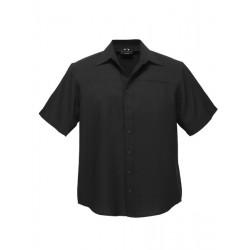 Biz Oasis Mens Plain Short Sleeve Shirt
