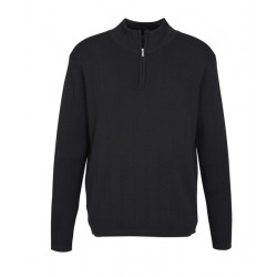 Biz 80/20 Wool Rich Pullover Mens Jersey