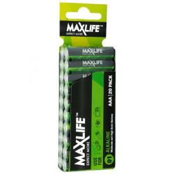MaxLife Alkaline AAA 20pk Batteries