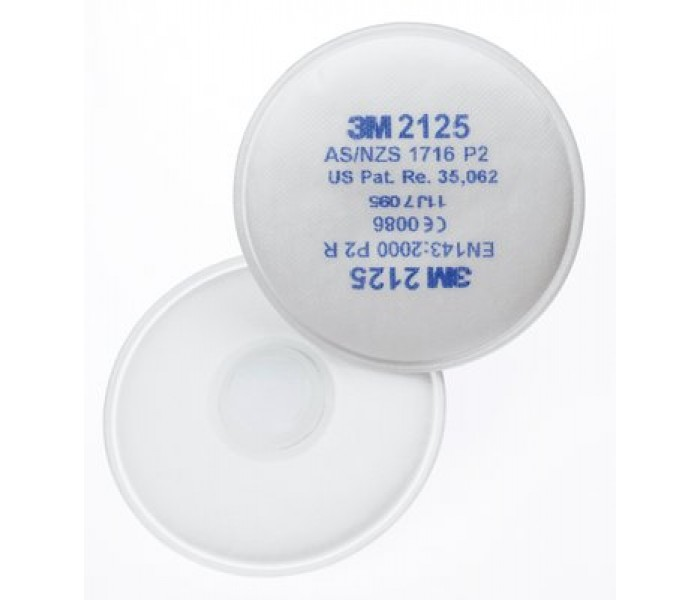 3M 2125 P2 Particle Filters