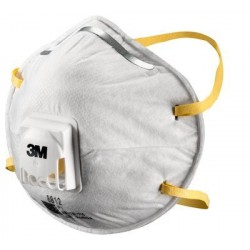 3M 8812 P1 Valve Particle Dust Masks
