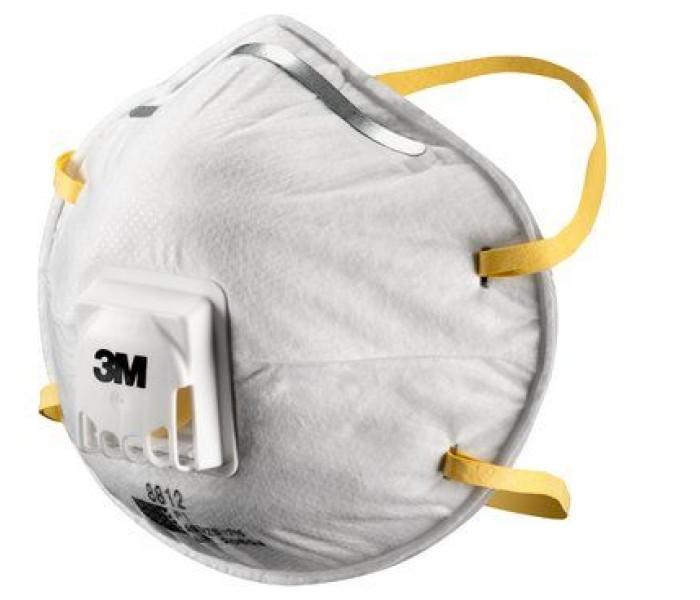 3M 8812 P1 Valve Particle Dust Masks
