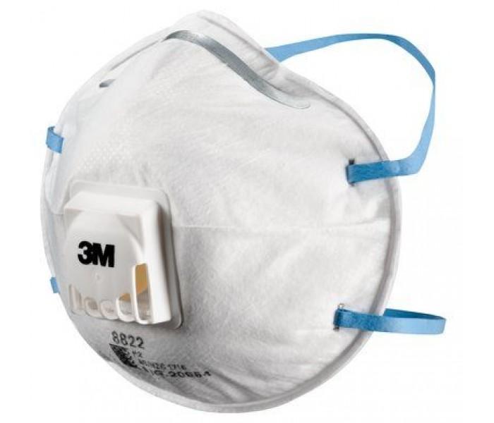 3M 8822 P2 Valve Particle/Fume Dust Masks
