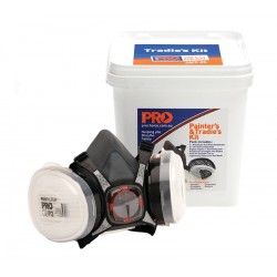 PRO A1/P2 Painter's & Tradie's Half Mask Respirator Kit