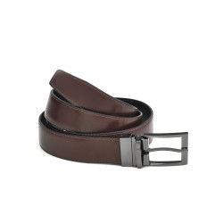 Biz Corp Mens Reversible Leather Belt