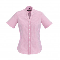 Boulevard Bordeaux Ladies Short Sleeve Shirt